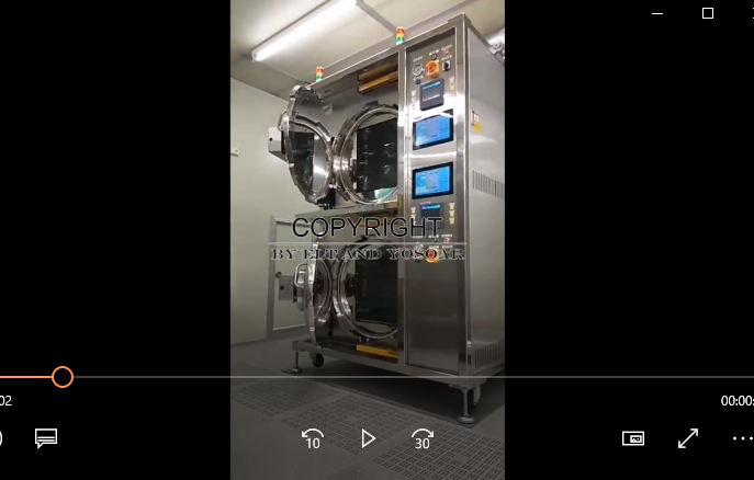 双炉压力烤箱视频